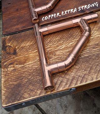 Copper Pipe/ Cast Iron Shelf Brackets