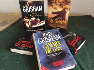 Novelas varias autor John Grisham