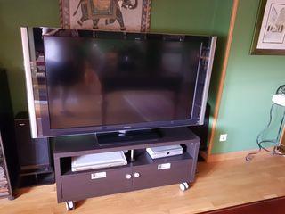 Televisión + mesa tv