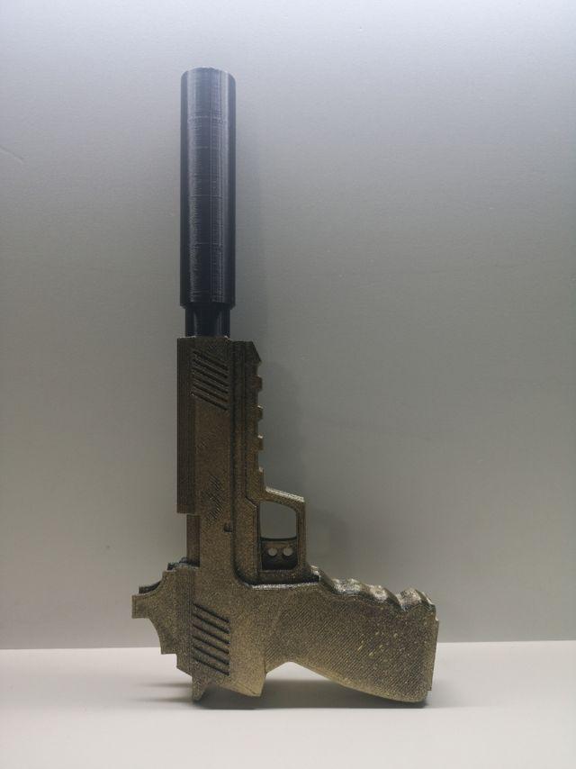 Pistola silenciada FORTNITE
