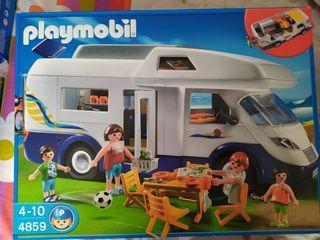 autocaravana de Playmobil