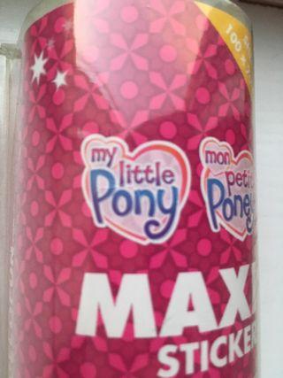 Maxi sticker - pegatina pared 95cms my little pony