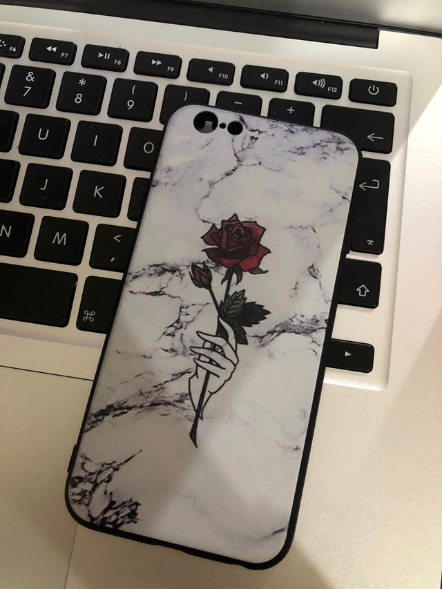 Rose/Marble iPhone6/6s Case