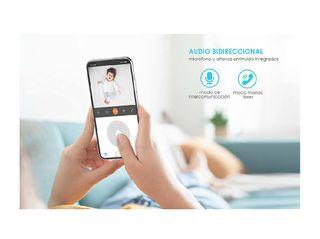 Audio de 2 V/ías Sensor de Movimiento Vigilabebes Audio Camara IP WiFi 1080P HD Grabacion Continua FHD Monitor para Bebe//Perros Detecci/ón Humana ieGeek Camaras de Vigilancia WiFi Interior