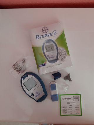 Medidor azúcar o glucómetro Breeze2 BAYER