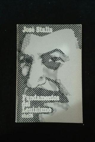 Libro Fundamentos del Leninismo.