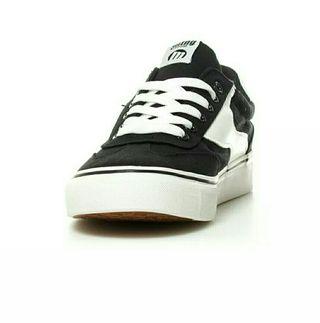 Detalles de Nike Zapatillas de piel Air Monarch blanco, gris Hombrechico Plano Cordones