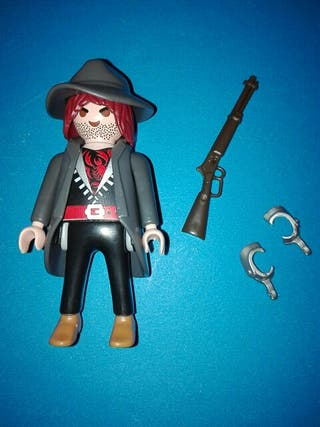 Playmobil vaquero pistolero oeste
