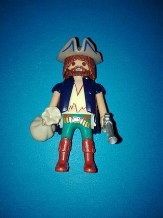Playmobil pirata marinero barco goleta isla