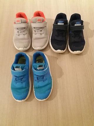 Lote zapatillas de deporte NIKE, star runner,n°27