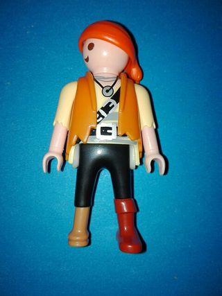 Playmobil pirata marinero barco goleta