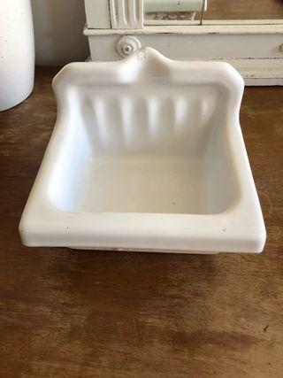 Jabonera ceramica vintage