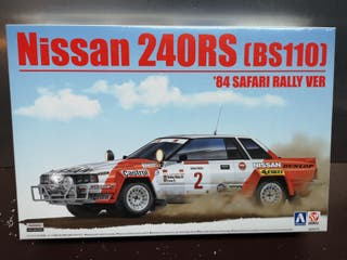 maqueta Nissan 240rs Safari