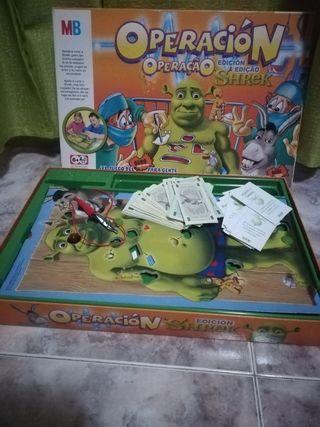 Juego de mesa Operación Shrek