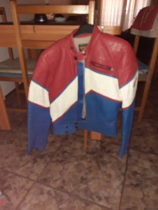chaqueta de moto sin potecciones
