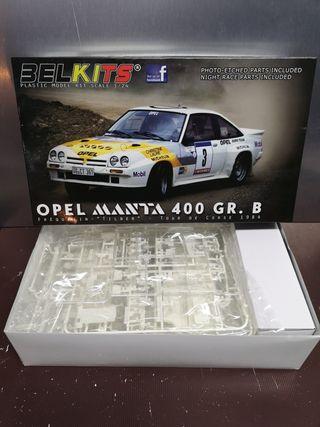 Maqueta Opel Manta 400