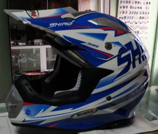 CASCO SHIRO MX EN FIBRA DE CARBONO