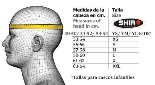 CASCO SHIRO MX EN FIBRA DE CARBONO
