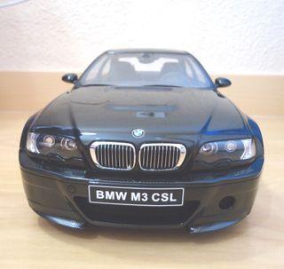 BMW E46 M3 CSL ESCALA 1:12