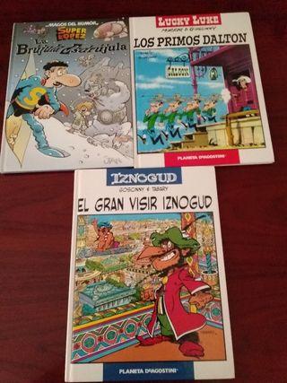 vendo 3 comics de tapa dura