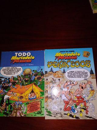 4 comics de Mortadelo y Filemón por 12€