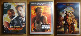 Tres dvds impecables