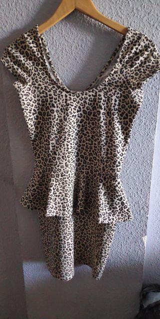 Vestido de leopardo