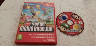 Juego Wii New Super Mario Bross