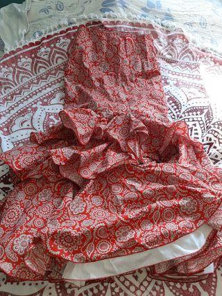 faldas vestidos blusa de flamenca