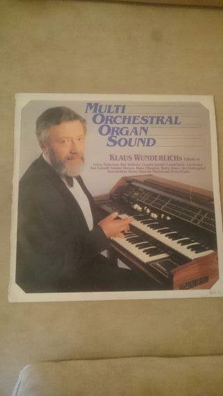 VINILO MULTI ORCHESTRAL ORGAN SOUND de Klaus Wunde