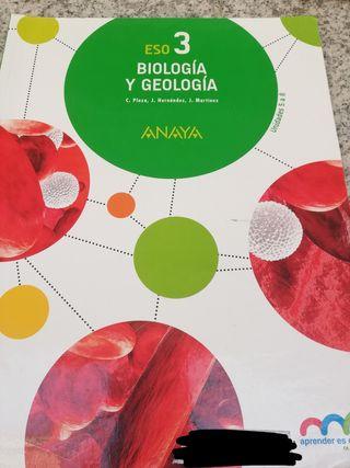 libros biología 3°eso