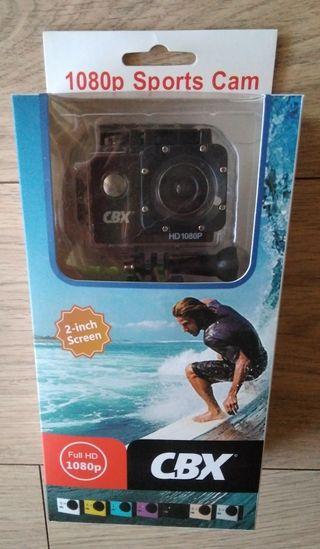 Camara deportiva CBX Full HD 1080p