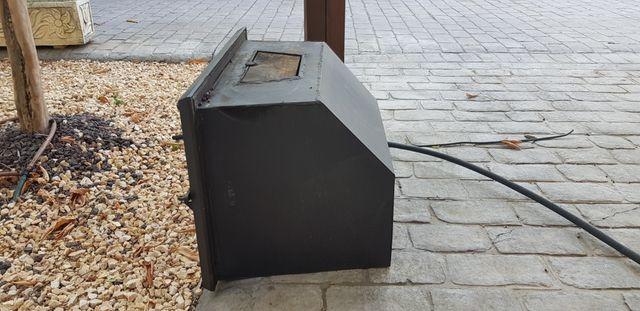 casett para chimenea de leña