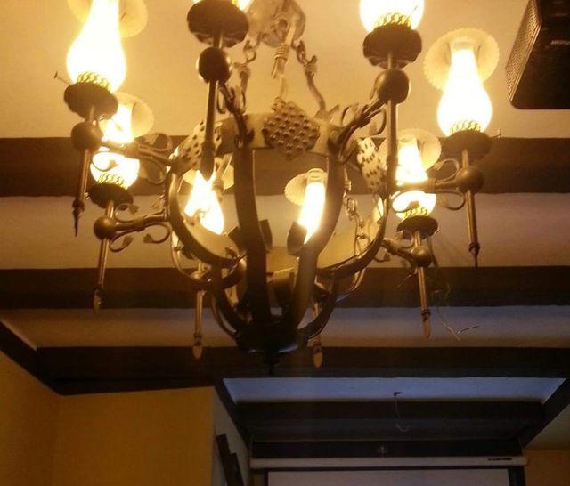 lamparas de castillo