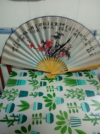 Abanico decorativo chino / japonés
