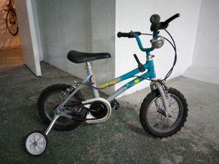"""bicicleta para niños con rueda de 12"""""""