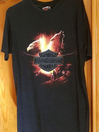 lote de 3 camisetas Harley Davidson
