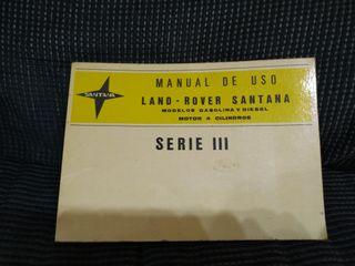 manual de land rover santana