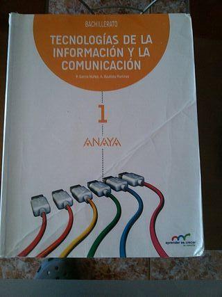 Libro TIC 1 Bachillerato Anaya