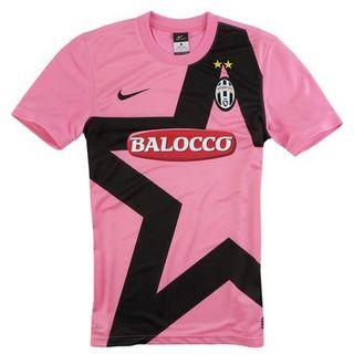 Camiseta Juventus de Turin Rosa SERIE A - 11/12