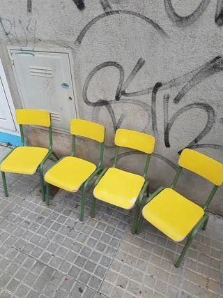 sillas escritorio infantil ( quedan 2)