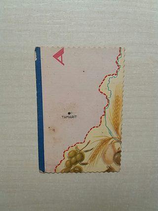 Cromo Chocolate Mapa de Catalunya número 24