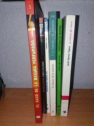 Libros de lectura de primaria y secundaria
