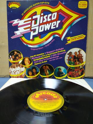 Disco Power - 70's Power Hits 1980 GER