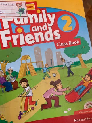 Family and Friends 2PRIMARIA