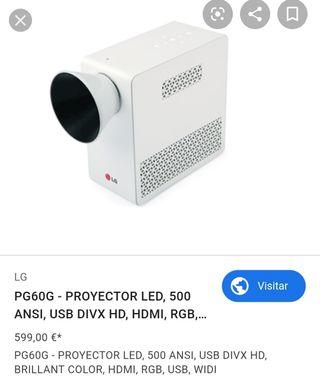 proyector LG ALTA DEFINICIÓN