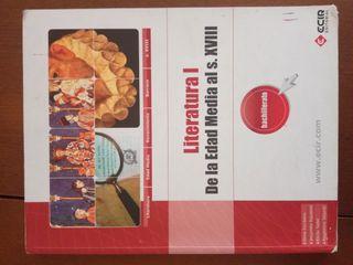 LIBRO 1 BACHILLERATO LITERATURA