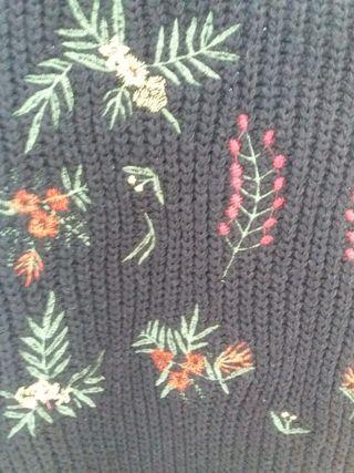 Jersey Negro con decorados de colores SIN ESTRENAr