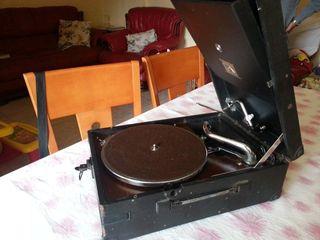 gramófono portatil