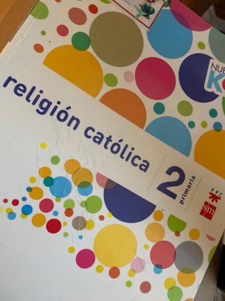 Libro de Religión 2ºPRIMARIA